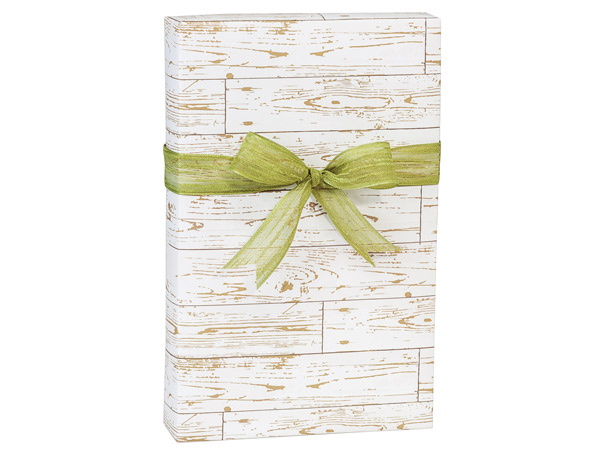 """Distressed Wood Wrapping Paper 24""""x417' Counter Roll"""