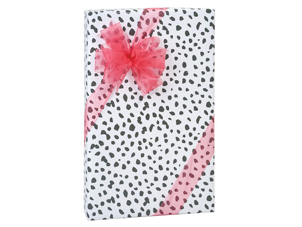 Dalmatian Dots Premium Recycled Gift Wrapping Paper