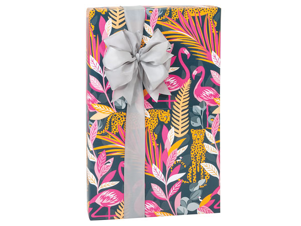 "Exotic Jungle 24""x417', Gift Wrap Counter Roll"
