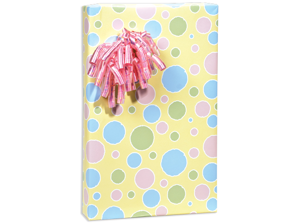 "Baby Bubbles 24""x417' Roll Gift Wrap"