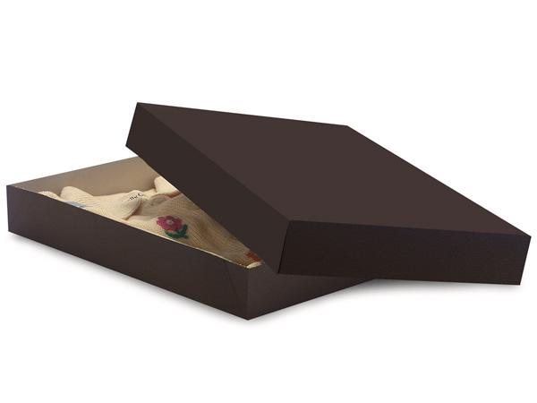"Chocolate 11.5 x 8.5 x 1.5"" Apparel Box"