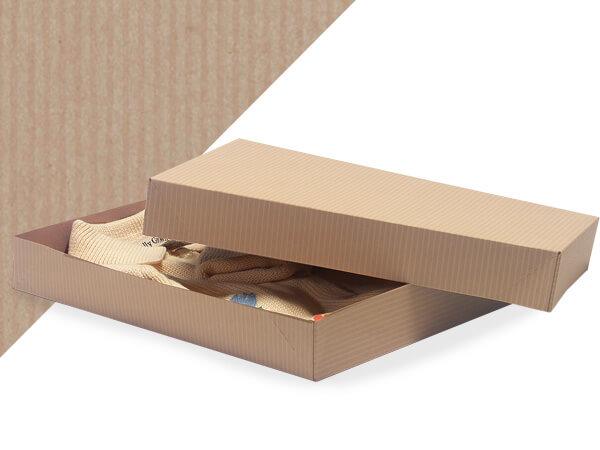 """Oatmeal 11.5 x 8.5 x 1.5"""" Apparel Box"""