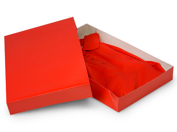"Red Gloss Apparel 15x9-1/2x2"" 100% Recycled Gloss Tint - 2 Pc Box"