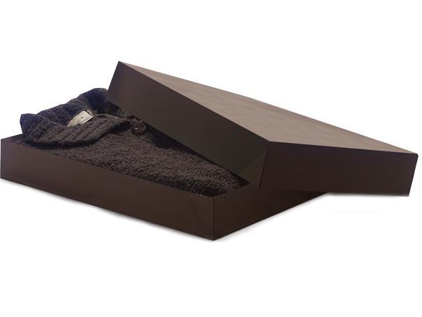 "Chocolate 17x11x2.5"" Apparel Box"