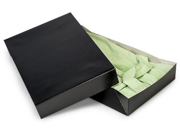 """Black Gloss Apparel 19x12x3"""" 100% Recycled Gloss Tint - 2 Pc Box"""