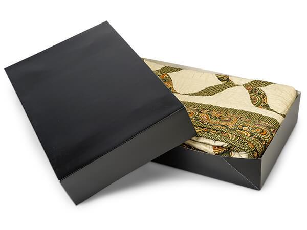 """Black Gloss Apparel 24x14x4"""" 100% Recycled Gloss Tint - 2 Pc Box"""