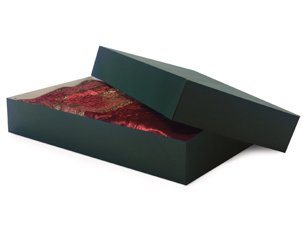 "Deep Green 24x14x4"" Apparel Box"