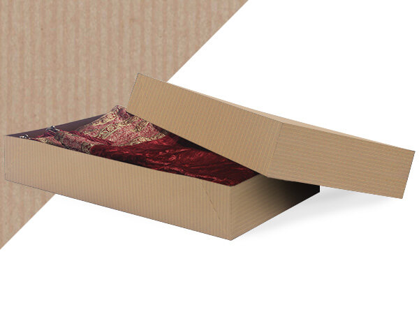 "Oatmeal  24x14x4"" Apparel Box"