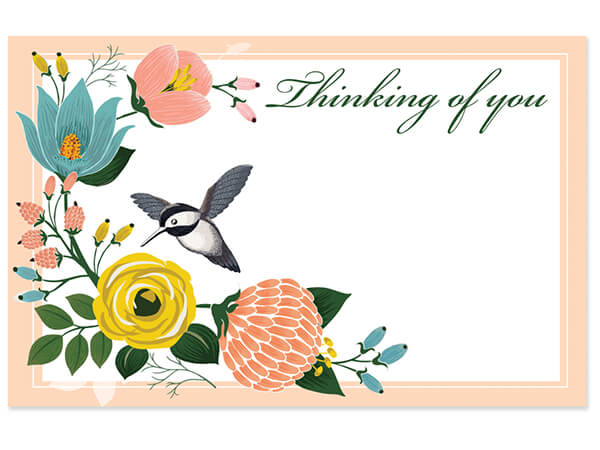 Hummingbird Sympathy Card