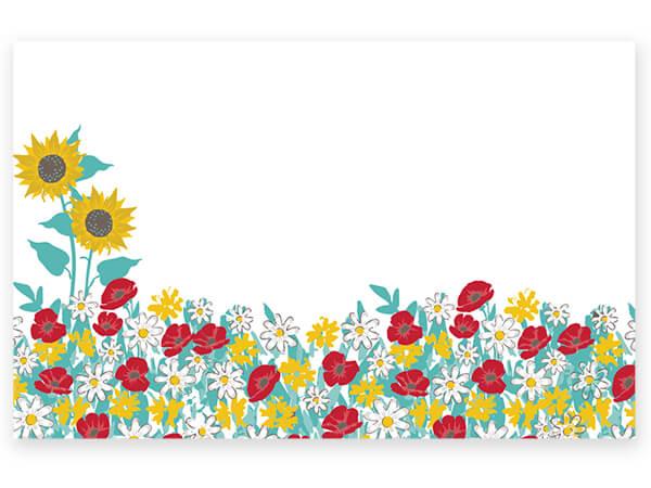 "Farm Truck Flowers Enclosure Card, 3.5x2.25"", 50 Pack"