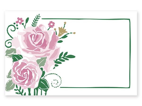 Farmhouse Flowers Enclosure Card