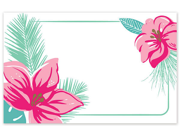 Tropical Paradise Enclosure Card