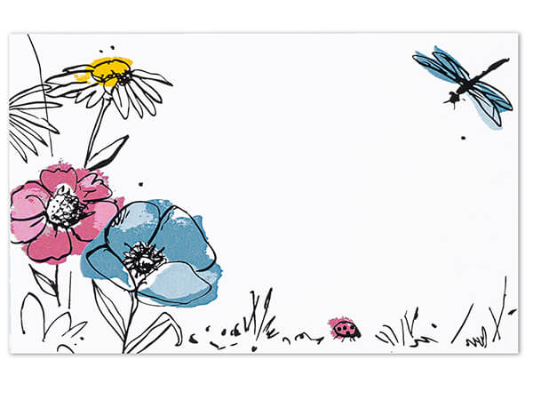 Wildflower Meadow Enclosure Cards 3-1/2x2-1/4""