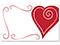 Heart Swirl Border