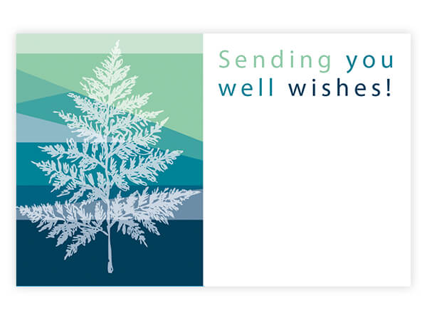 "Well Wishes Enclosure Gift Card 3.5x2.25"", 50 Pack"