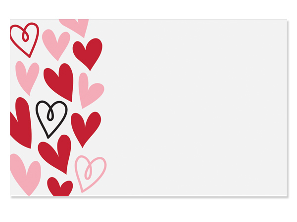 """Lots of Love Enclosure Gift Card 3.5x2.25"""", 50 Pack"""