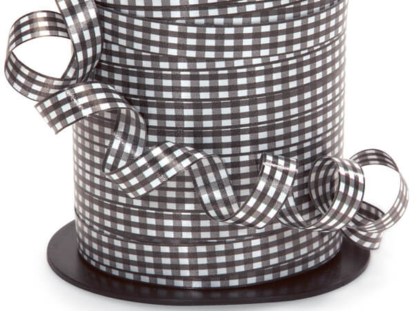 Gingham Curling Ribbon