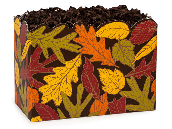 Autumn Leaves Basket Boxes