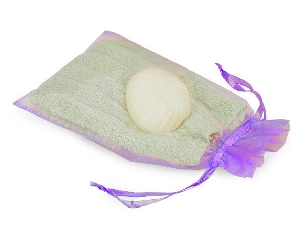 "Lavender Organza Favor Bags, 6x10"", 10 Pack"
