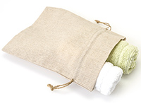 Custom Printed Linen Drawstring Bags