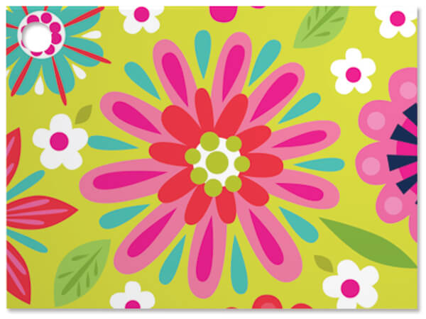 **Bright Blooms Theme Gift Cards 3-3/4x2-3/4""