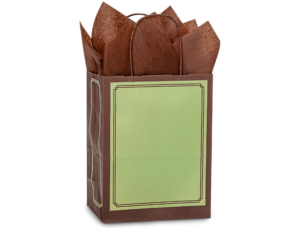 Cub Pistachio & Chocolate Duets Bag 250 8-1/4x4-3/4x10-1/2""