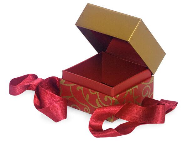 Elegant Scroll Presentation Boxes