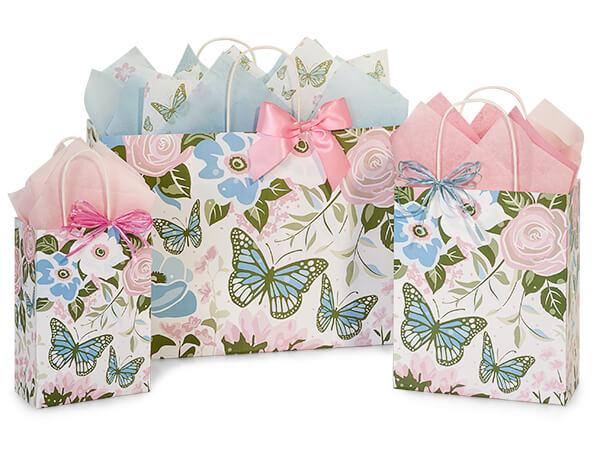 Butterfly Garden Paper Shopping Bags
