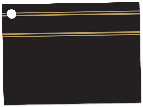 Black & Gold Theme Gift Cards 3-3/4x2-3/4""