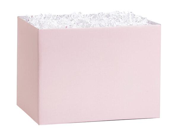 """Blush Pink Basket Box, Small 6.75x4x5"""", 6 Pack"""