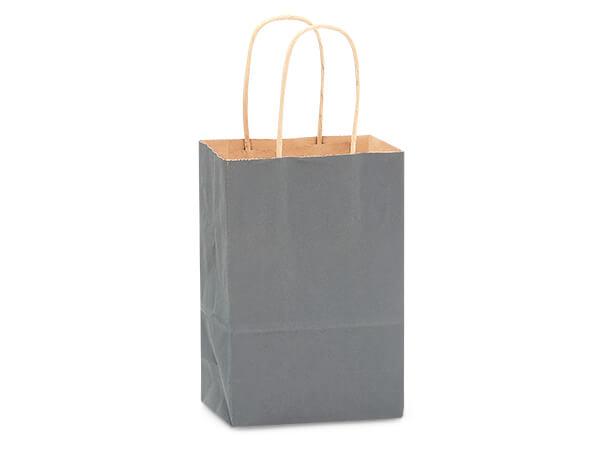 "Rose Charcoal Gray Recycled Kraft 250 Pk 5-1/2x3-1/4x8-3/8"""