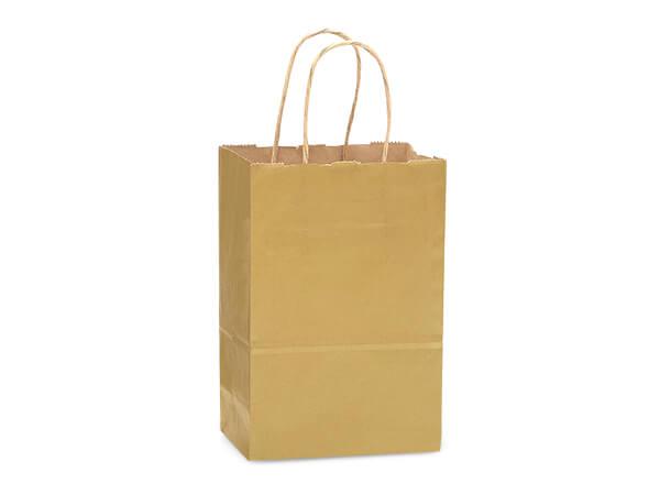 """Rose Metallic Gold Recycled Kraft 250 Pk 5-1/2x3-1/4x8-3/8"""""""