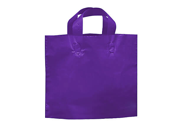 "Purple Studio Plastic Bags Piccolo 12x10x4""~ 250 bulk pack"