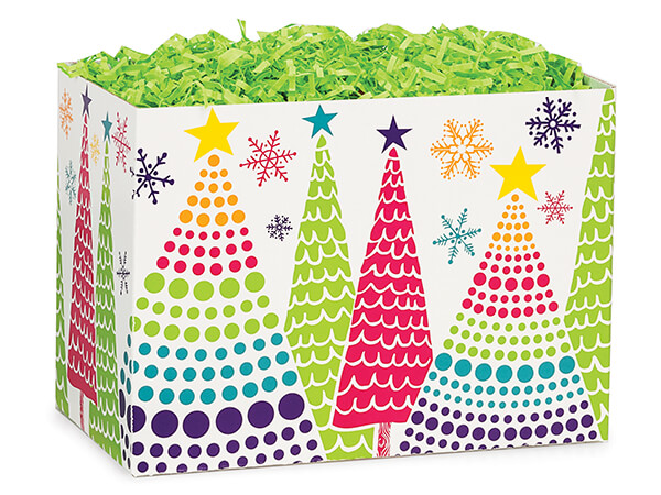 Bright Trees Basket Boxes