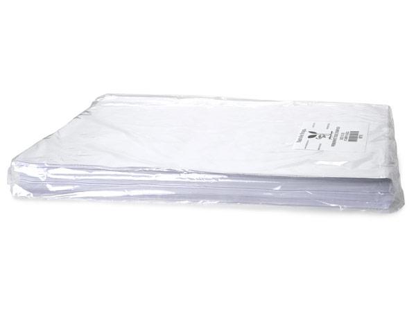 """White Buffered Tissue Paper, 24x36"""" Bulk 480 Sheet Pack"""