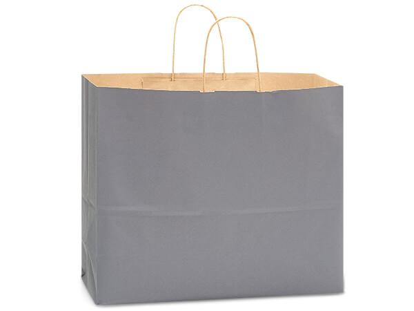 "Vogue Charcoal Gray Recycled Kraft 250 Pk 16x6x13"""