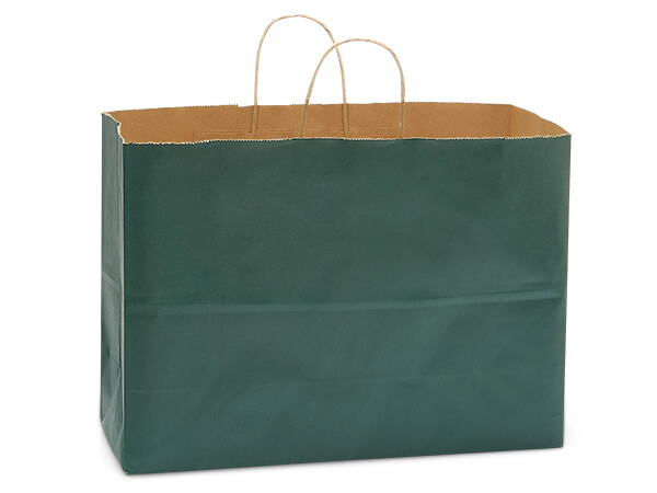 Vogue Hunter Recycled Kraft Bags 250 Pk 16x6x13""