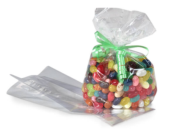 """Clear Cello Bags with Gusset, 3.5x2x7.5"""", 1000 Pack"""