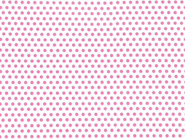 """*Pink Dots Cello Bags, 3.5x2x7.5"""", 100 Pack"""