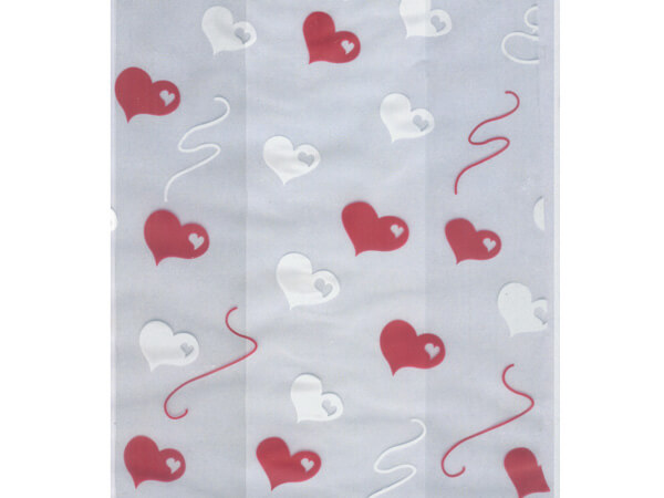 "Heart Strings Cello Bags, 3.5x2x7.5"", 100 Pack"