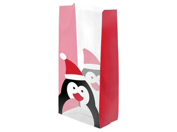"Jolly Penguin Cello Bags, 3.5x2x7.5"", 100 Pack"