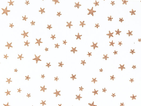 """Gold Stars Cello Bags, 3.5x2x7.5"""", 100 Pack"""
