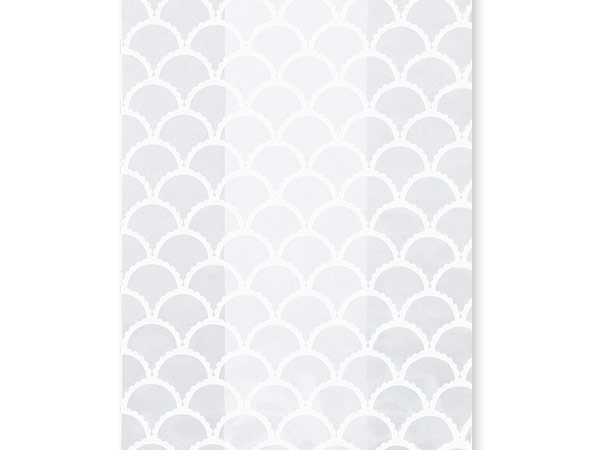 """White Cottage Creation Cello Bags, 3.5x2x7.5"""", 100 Pack"""