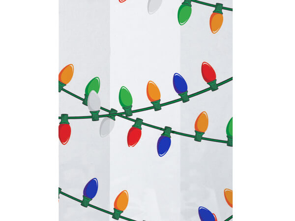 "Hanging Lights Cello Bags, 4x2x9"", 100 Pack"