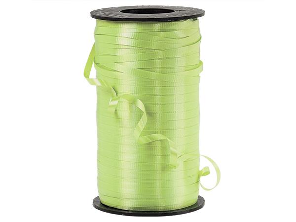 "Celery Green Curling Ribbon, 3/16""x500 yards"