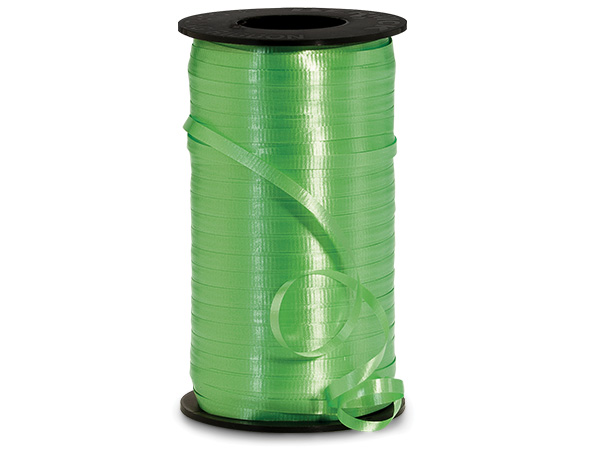 "Mint Curling Ribbon 3/16""x500 yds"