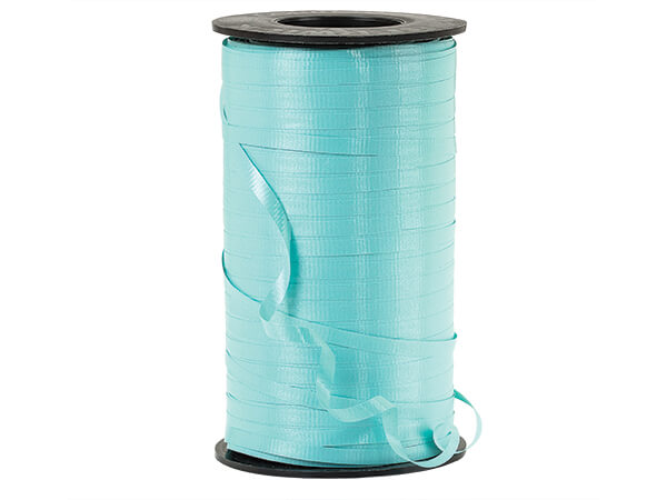 "Robins Egg Blue Curling Ribbon, 3/16""x500 yards"