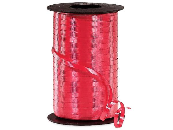 "Red Curling Ribbon 3/16""x500 yds"
