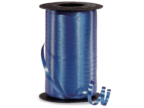 "Royal Blue Curling Ribbon 3/16""x500 yds"