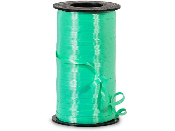 "Seafoam Green Curling Ribbon, 3/16""x500 yards"